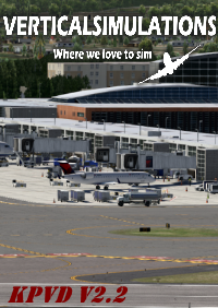VERTICAL SIMULATIONS - KPVD - T.F. GREEN AIRPORT V2.2 X-PLANE 11