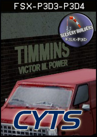 FSXCENERY - CYTS - TIMMINS VICTOR M POWER FSX P3D