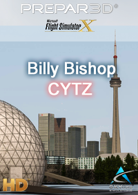 "SKYLINE SIMULATIONS - ""BILLY BISHOP"" TORONTO CITY AIRPORT FSX P3D"