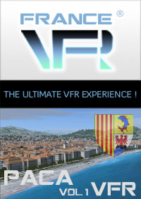FRANCEVFR - FRENCH RIVIERA VFR 3D AUTOMATION VOL. 1 FSX P3D