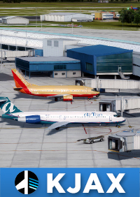 CIELOSIM - KJAX JACKSONVILLE INTERNATIONAL AIRPORT FSX P3D