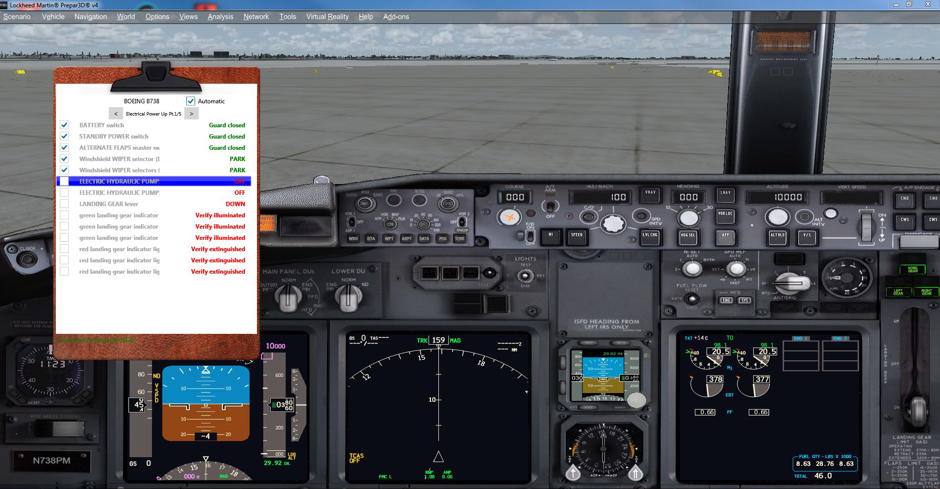 EEB GMBH - ULTIMATE CHECKLIST 终极检查单 PMDG 737 扩展包 P3D4