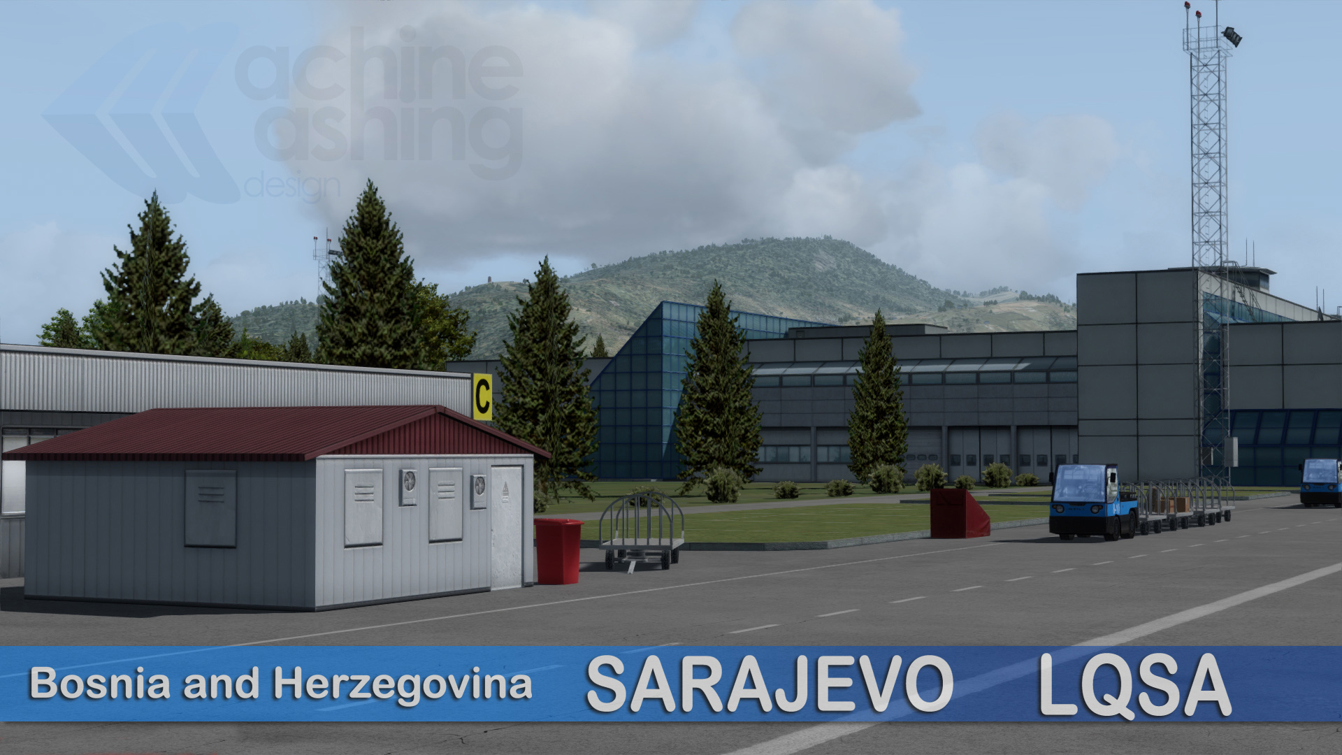MACHINE WASHING DESIGN - SARAJEVO LQSA FSX P3D