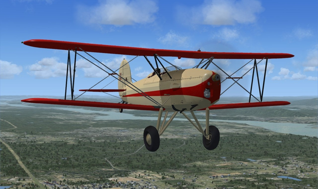 "GOLDEN AGE - 1930'S -40'S GREAT LAKES ""MODIFIED""  FSX P3D"