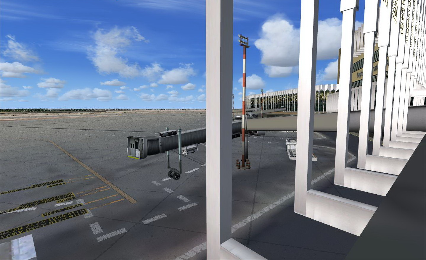ARMI PROJECT - BAGHDAD INTERNATIONAL AIRPORT ORBI FSX