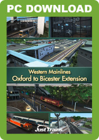 JUSTTRAINS - WESTERN MAINLINES OXFORD TO BICESTER EXTENSION