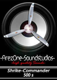 AREZONE - SHRIKE-COMMANDER 500S HQ SOUNDSET FSX P3D