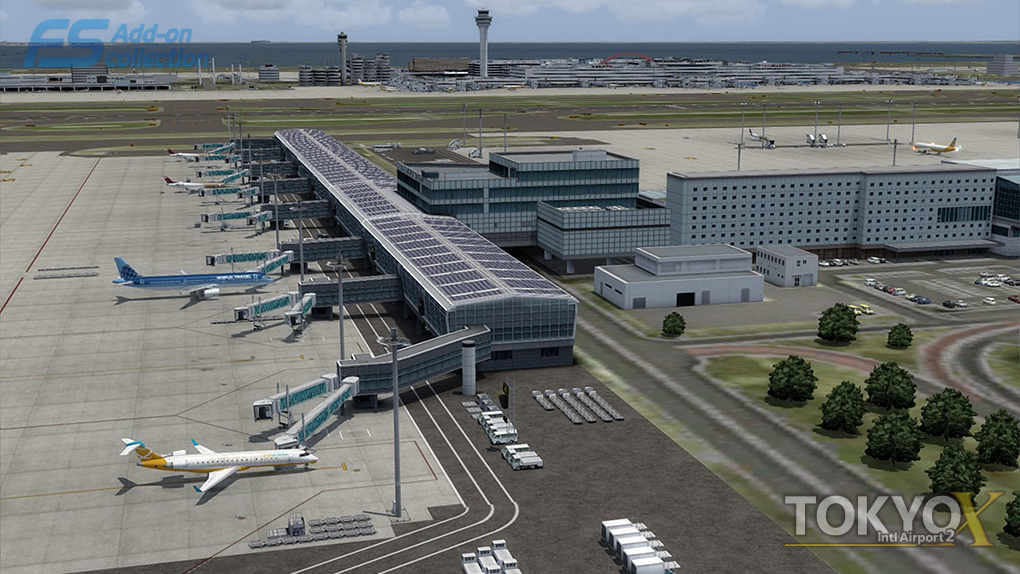 TECHNOBRAIN - FS ADD-ON COLLECTION TOKYO INTL AIRPORT 2 FSX P3D