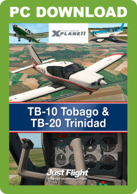 JUST FLIGHT - TB-10 TOBAGO & TB-20 TRINIDAD X-PLANE 11