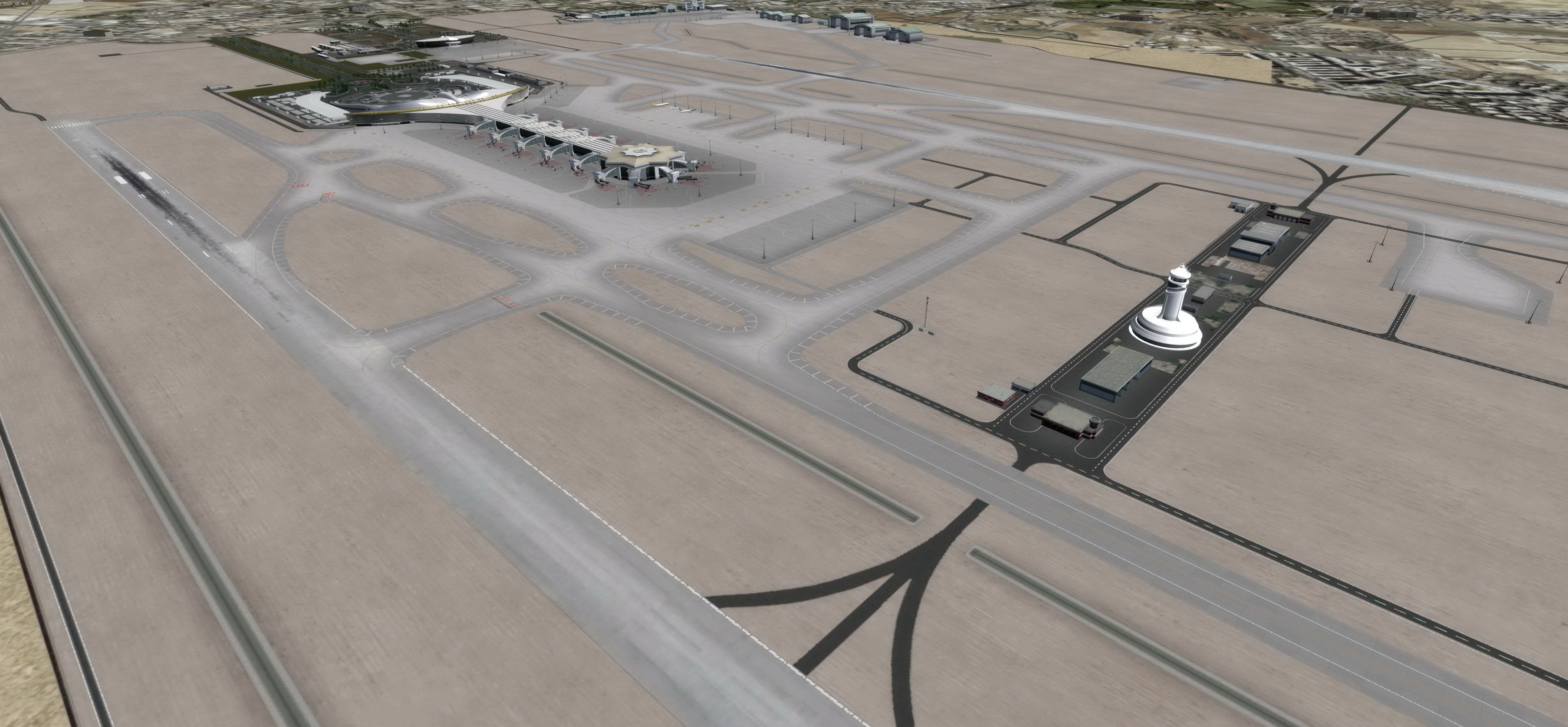 ARMI PROJECT - ASHGABAT INTERNATIONAL AIRPORT P3D4