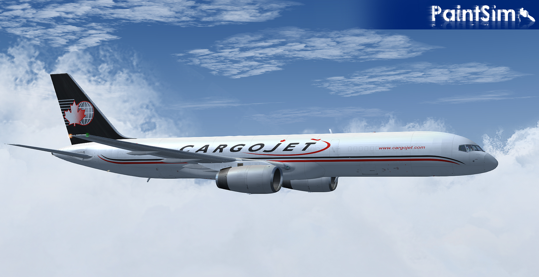 PAINTSIM - HD TEXTURE PACK 1 FOR CAPTAIN SIM BOEING 757-200 CARGO FS9