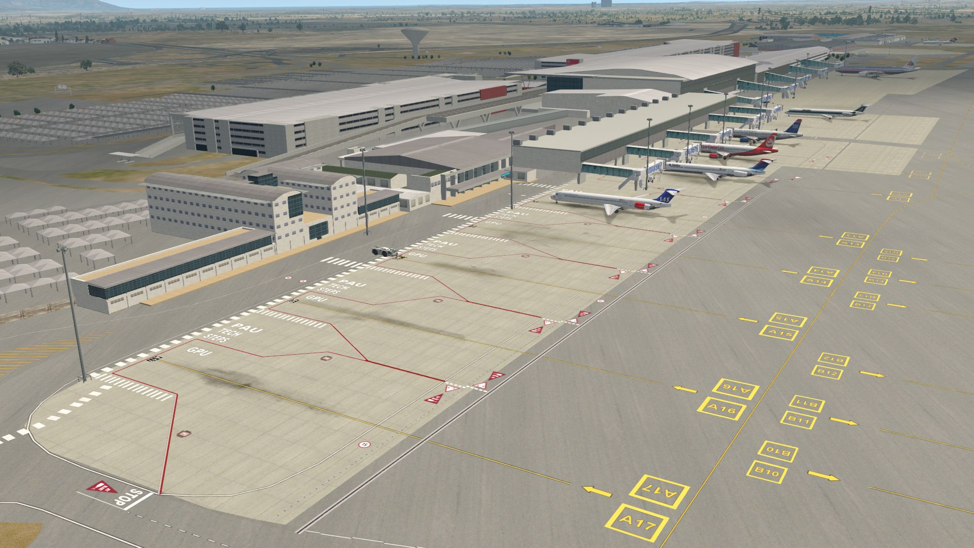 NMG SIMULATIONS - NMG CAPE TOWN INTL AIRPORT V5 X-PLANE 11