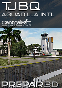CENTRALSIM - TJBQ RAFAEL HERNANDEZ INTERNATIONAL AIRPORT - AGUADILLA P3DV4