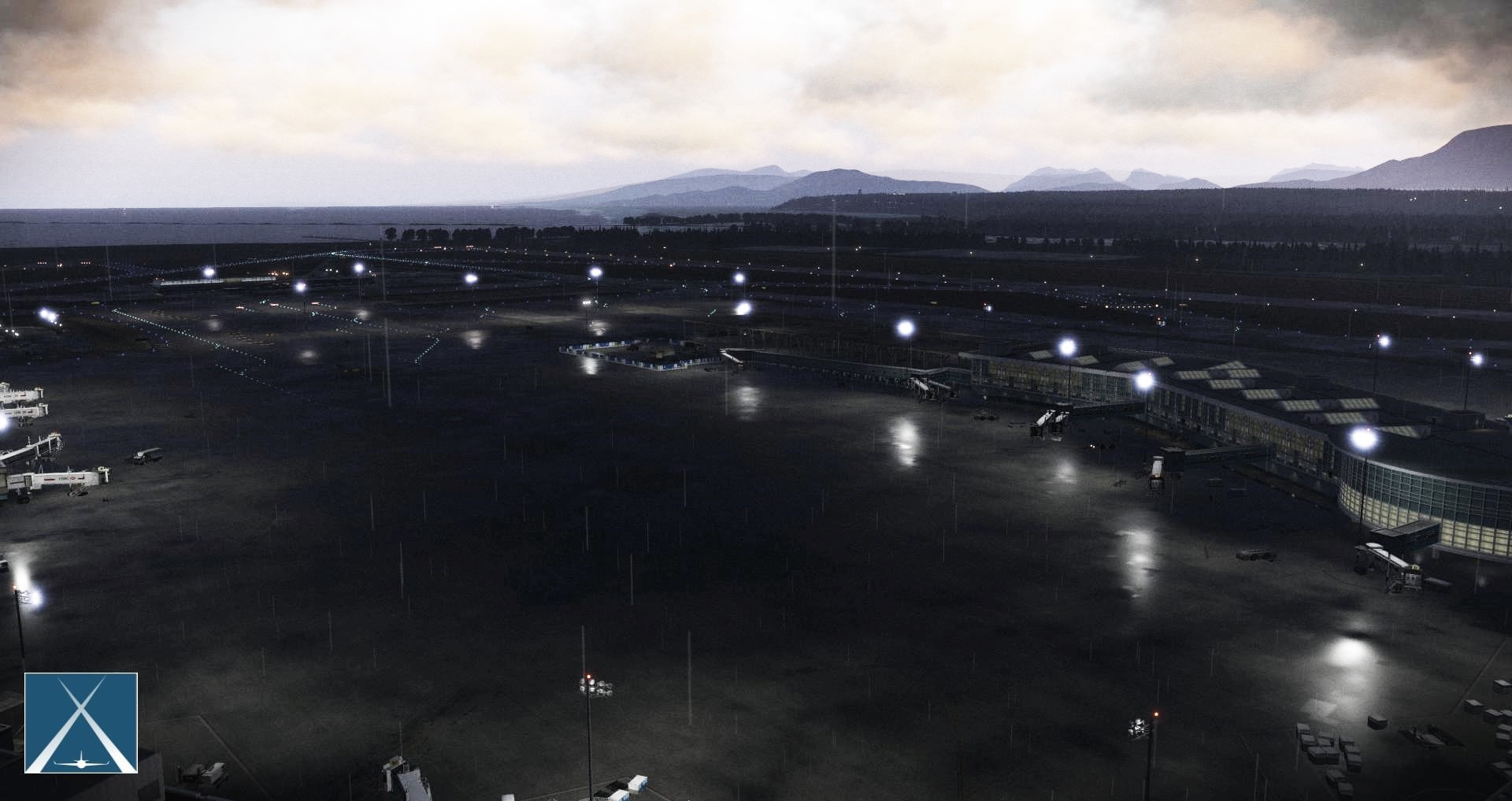 GLOBALL ART - CYVR - VANCOUVER INTERNATIONAL AIRPORT X-PLANE 11