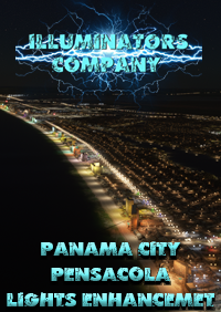 ILLUMINATORS - PANAMA CITY AND PENSACOLA NIGHT LIGHT ENHANCED FOR MSFS