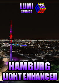 LUMI 3D STUDIOS - HAMBURG NIGHT LIGHT ENHANCED MSFS