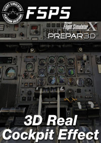 FSPS - 3D REAL COCKPIT EFFECT FSX P3D