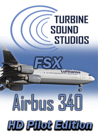 TURBINE SOUND STUDIOS - AIRBUS A340 TRENT-500 HD PILOT EDITION SOUNDPACK FOR FSX
