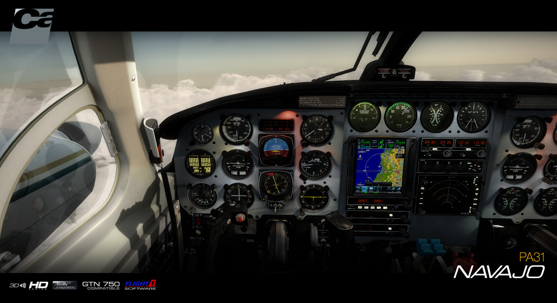 CARENADO - PA31 NAVAJO HD SERIES FSX P3D