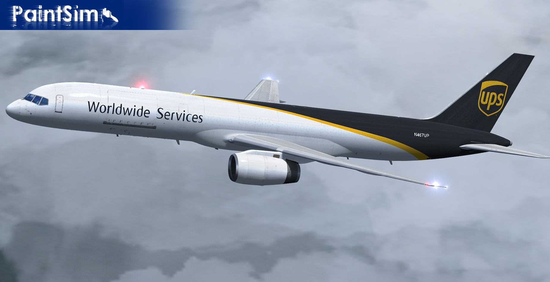PAINTSIM - UHD TEXTURE PACK 1 FOR CAPTAIN SIM BOEING 757-200 CARGO III FSX P3D