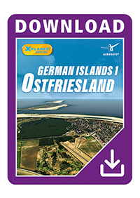 AEROSOFT - GERMAN ISLANDS 1: OSTFRIESLAND XP X-PLANE 11