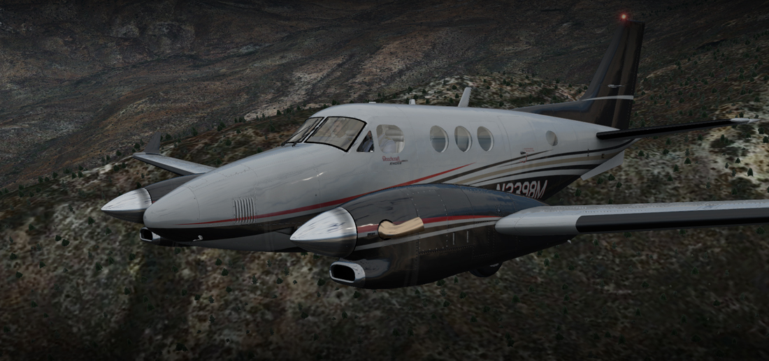 CARENADO - C90 GTX KING AIR X-PLANE 11