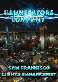 ILLUMINATORS - SAN FRANCISCO AND REGION (USA) NIGHT LIGHT ENHANCED MSFS