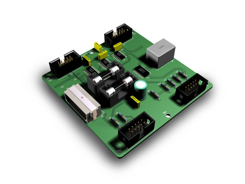 FI - GSA55 - CENTRAL INTERFACE MODULE