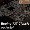 UTT - BOEING 737 CLASSIC PEDESTAL + THRUST LEVERS + FMS SOURCE MODEL FOR 3DS MAX