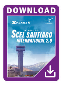 AEROSOFT - SCEL SANTIAGO INTERNATIONAL AIRPORT 2.0 X-PLANE 10/11