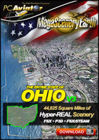 MEGASCENERYEARTH - PC AVIATOR - MEGASCENERY EARTH V3 - OHIO FSX P3D
