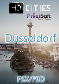 PREALSOFT - HD CITIES - DÜSSELDORF CITY FSX P3D
