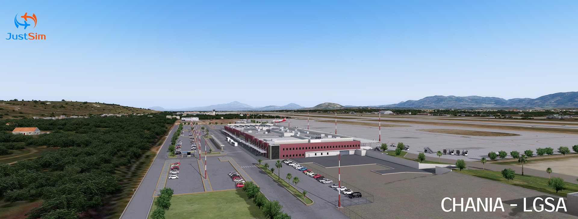 "JUSTSIM - CHANIA INTERNATIONAL AIRPORT ""DASKALOGIANNIS"" P3D"
