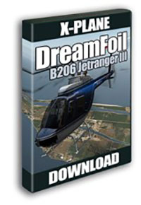 AEROSOFT - DREAMFOIL BELL 206 JETRANGER III X-PLANE (DOWNLOAD)