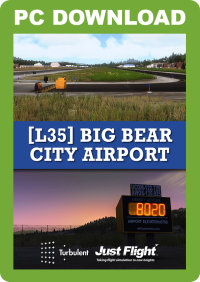 JUSTFLIGHT - L35 BIG BEAR CITY FSX P3D
