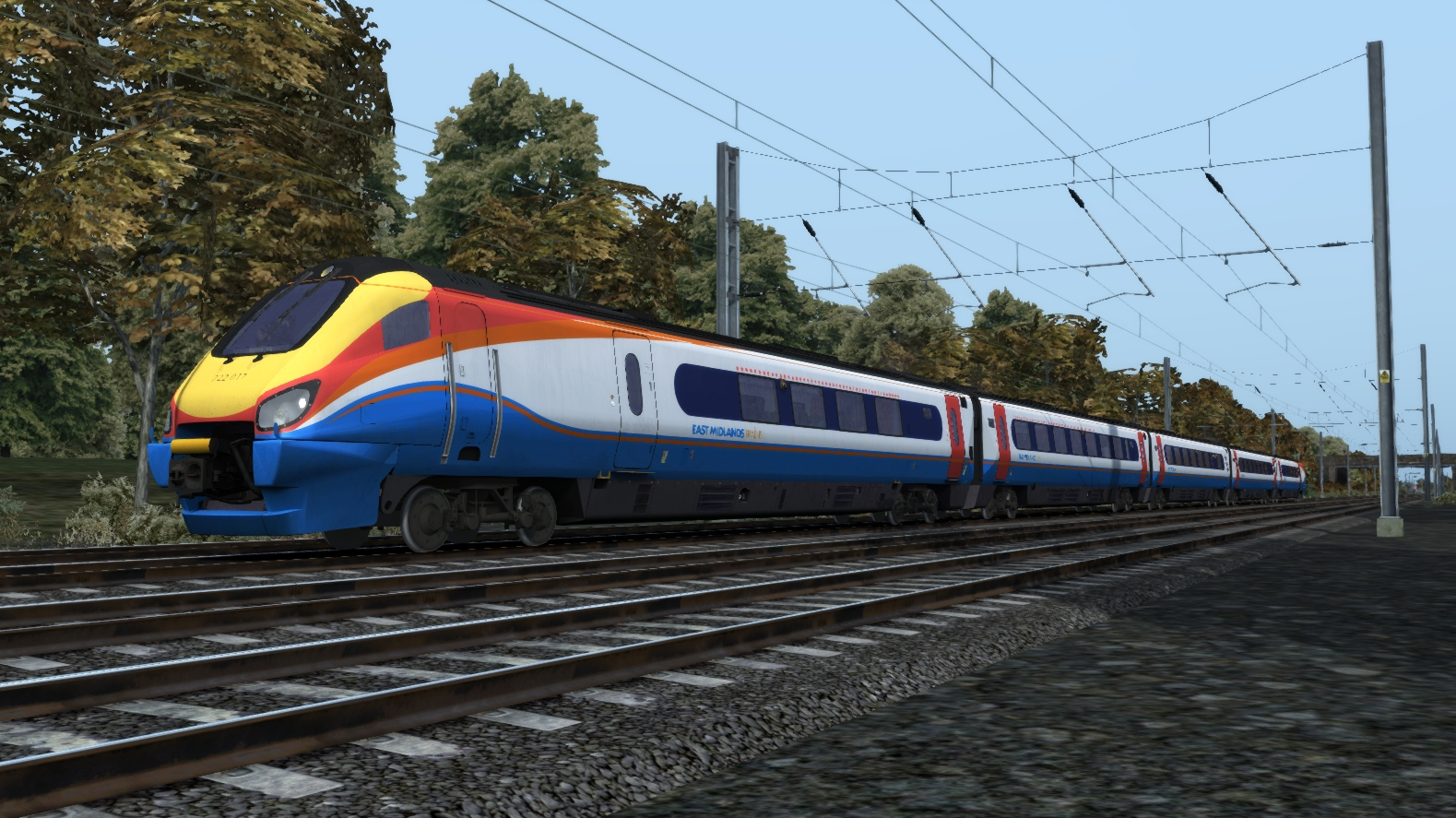 JUSTTRAINS - CLASS 222 ADVANCED