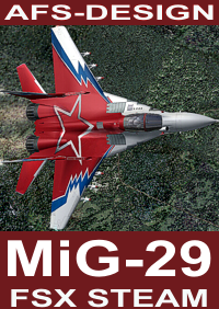 AFS-DESIGN - MIG-29 V2 FSX STEAM
