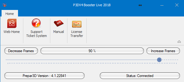 FSPS - P3DV4 BOOSTER LIVE 2018