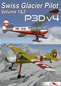 DFS - SWISS GLACIER PILOT VOLUME 1 AND 2 P3D4