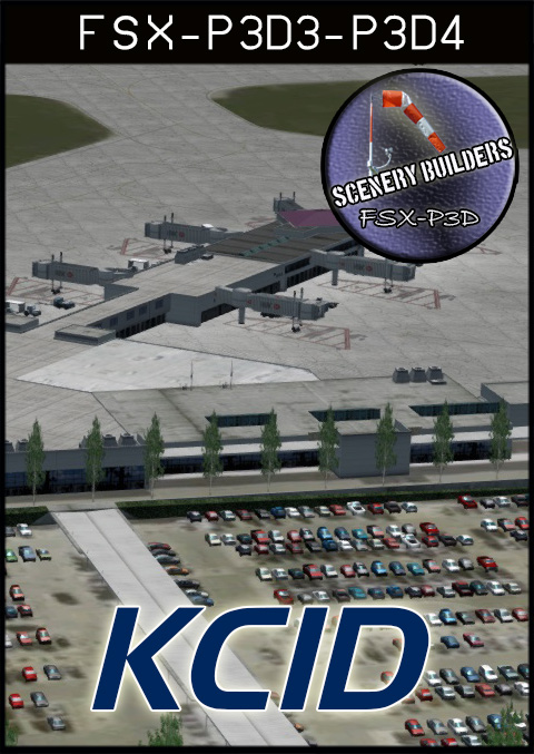 FSXCENERY - KCID THE EASTERN IOWA AIRPORT FSX P3D
