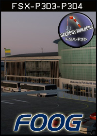 FSXCENERY - FOOG PORT-GENTIL INTERNATIONAL AIRPORT FSX P3D