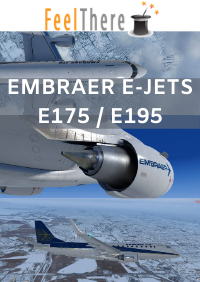 FEELTHERE - EMBRAER E-JETS E175 AND E195 V3 P3D4.4+