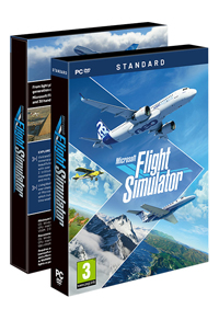 MICROSOFT FLIGHT SIMULATOR STANDARD PRE-ORDER BOX