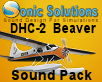 SONIC SOLUTIONS - DHC-2 BEAVER SOUNDPACK FSX