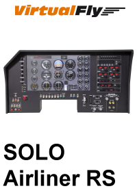 VIRTUALFLY - SOLO AIRLINER RS FLIGHT PANEL