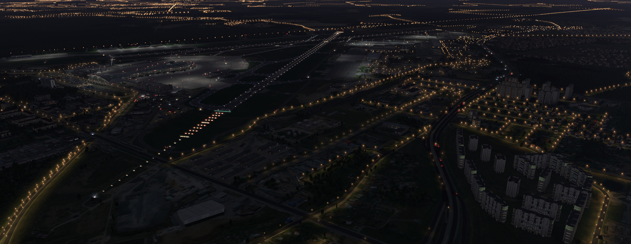 JUSTSIM - VNUKOVO INTERNATIONAL AIRPORT UUWW X-PLANE 11