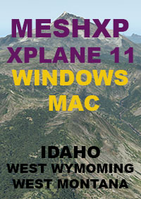 TABURET -  MESHXP IDAHO WEST WYOMING AND WEST MONTANA XP11