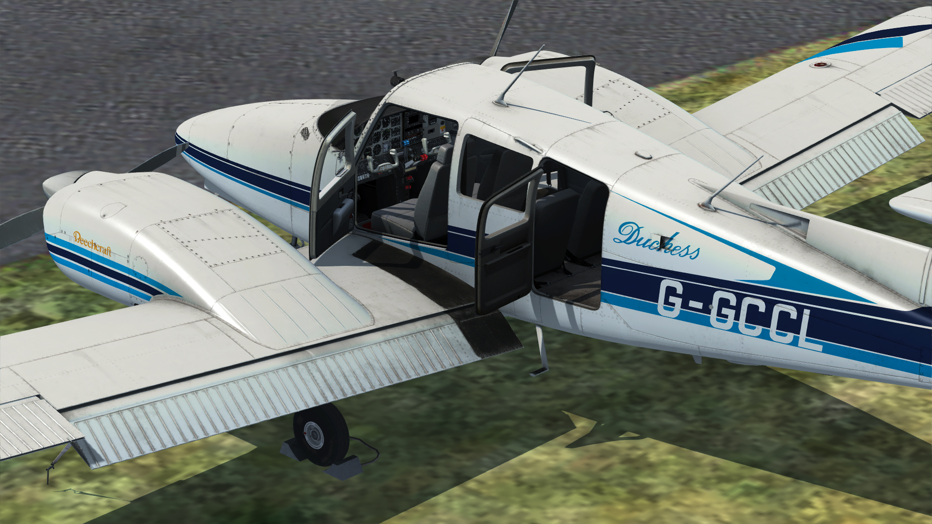 JUSTFLIGHT - DUCHESS MODEL 76 公爵夫人76 双发轻型飞机 FSX P3D