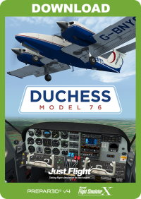 JUSTFLIGHT - DUCHESS MODEL 76 FSX P3D