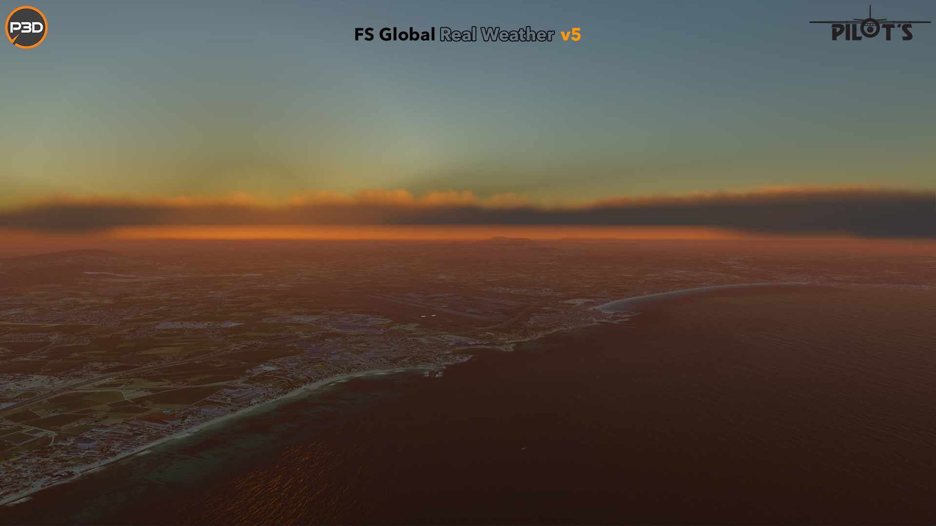 PILOT'S FSG - FS GLOBAL REAL WEATHER PREPAR3D V5 EDITION
